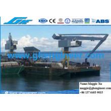 Planta de Cemento Núcleo Boom Quay Handling Machine Grúa Hidráulica E
