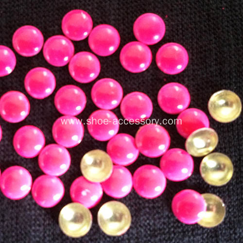 6mm Neon Rose HotFix Nailheads for Apparel