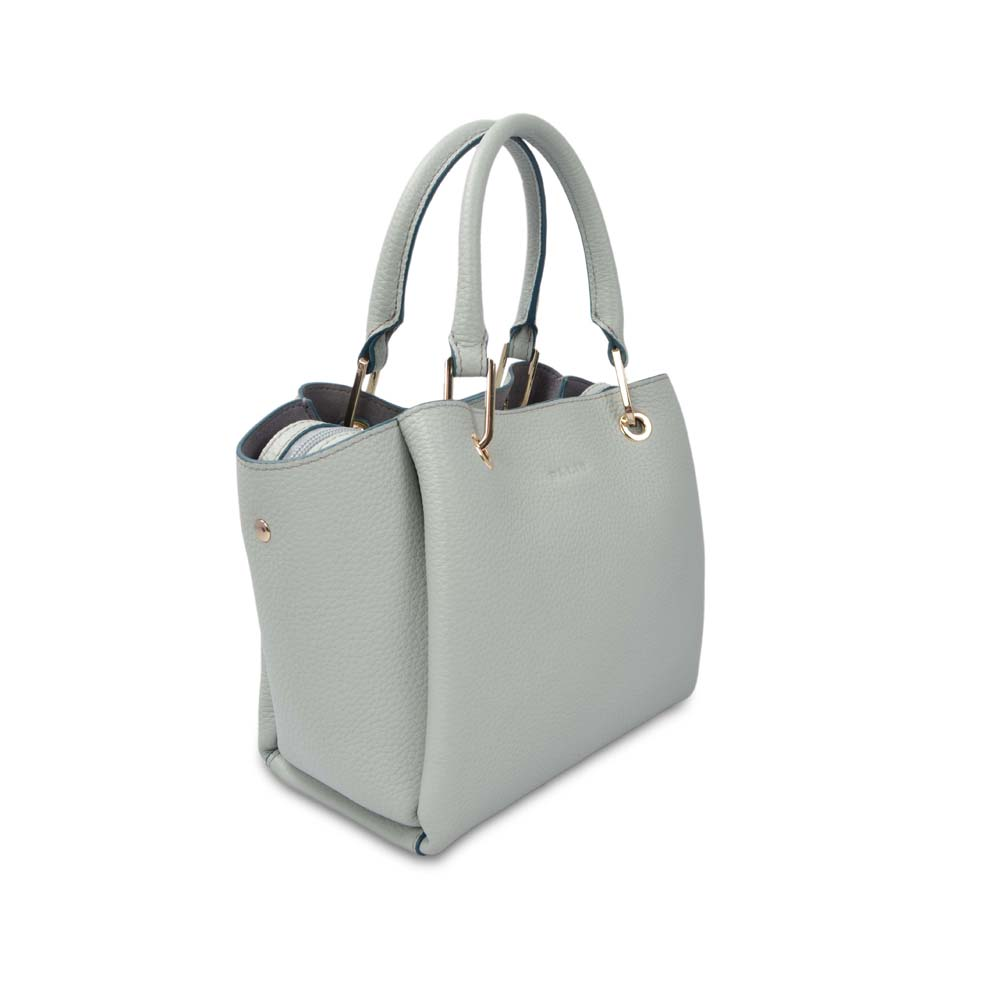 large capacity leather tote bag for women