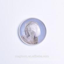 Professional quality glass fridge magnet Souvenir Glass Fridge Magnet