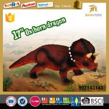 Alta qualidade 17 polegadas chifre de boi dragão parque dinossauro jogos