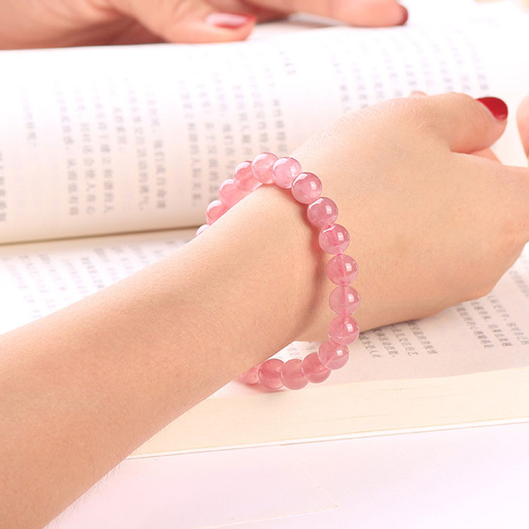 Genuine Rose Quartz Bracelet