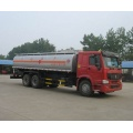 Fuel oil tanker truck dimensions volume pictures