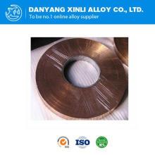 Bande d'alliage de manganine de haute qualité 6j13 pour Shunt