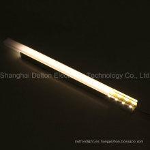 DC12V 9.6W barra de luz LED con perfil de aluminio