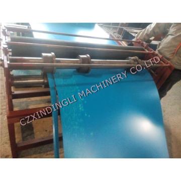 Máquina formadora de rolo de corte de metal