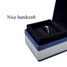 Cardboard wedding invitation paper ring box
