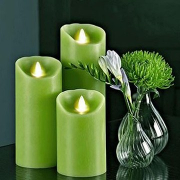 battery operated moving flame candle candles