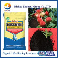 Fertilizante orgánico regulador del crecimiento vegetal