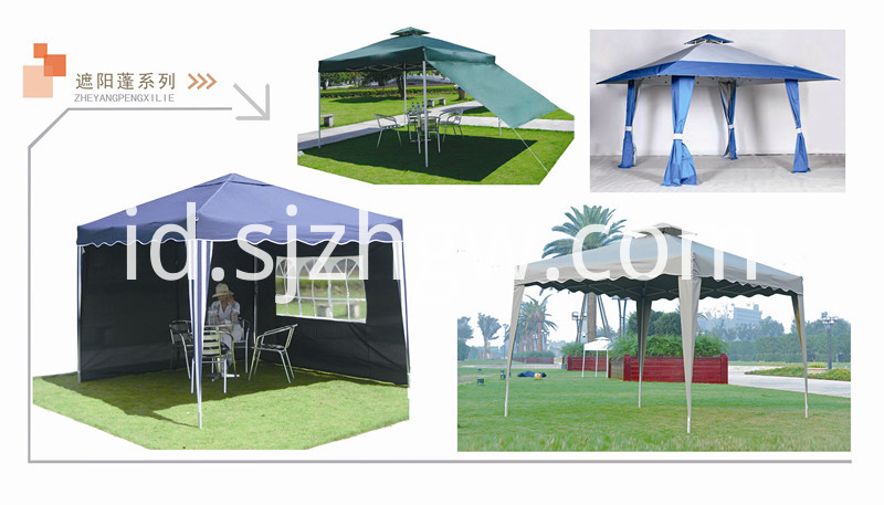 300D Waterproof Folding Gazebo
