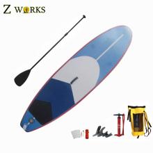 Utilisation faite à la main de planche de pagaie gonflable pour des sports de surf avec le prix comprtitive