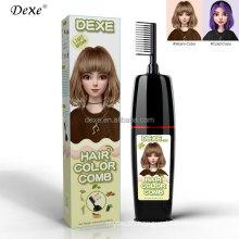 Dexe Black Magic Combs Hair Dye Color Comb With Foams Color Hair Ammonia Free Hair Dye 100%