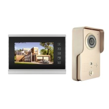 Touch-Taste-Kabelgebundenes Home-Video-Intercom-System