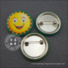 Smile Sun Tin Badge Custom Lovely Badge (HY-MKT-0034)