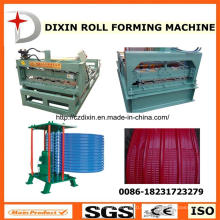 Новый дизайн профилирующей машины для склеивания рулонов Dixin