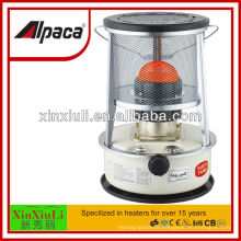 kerosene heater with safety triple tank safety grill device