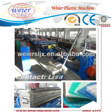 2013 competitive PP hollow sheet extrusion machine