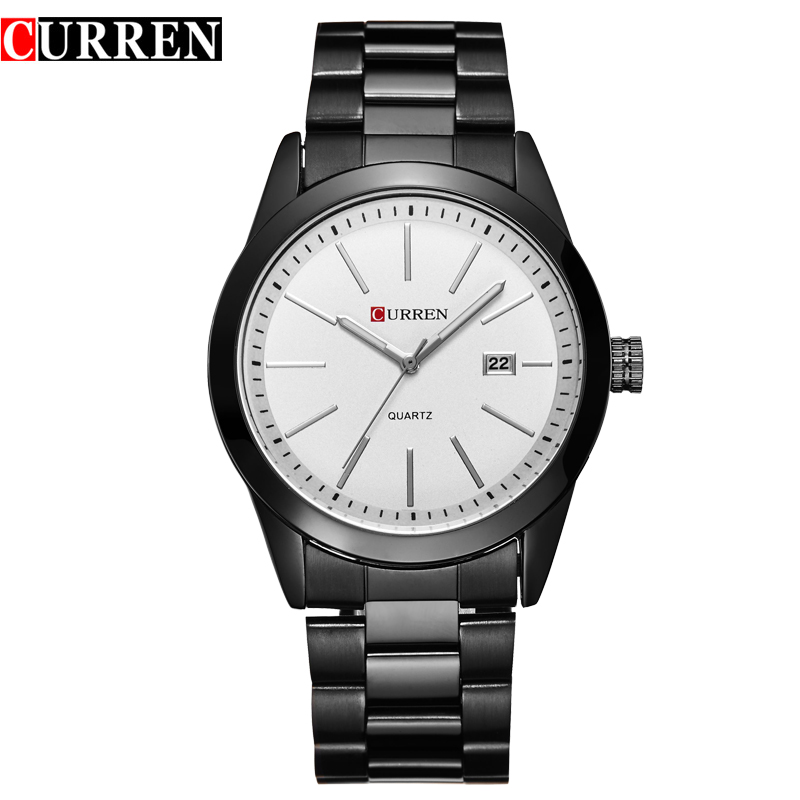 Curren Casual Business Quartz Stainless Steel Watch 6