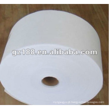 Viscose de 70% e tela não tecida de 45% Spunlace do poliéster 45 g / m2 para limpezas molhadas
