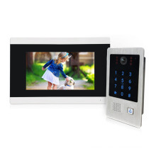 Super store hot sell 4wire touch screen video intercom system garage door opener remote