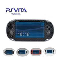 Autocollant de fibre de carbone de peau de protecteur de vinyle pour Sony PS Vita PSvita PSV 1000 PSV1000