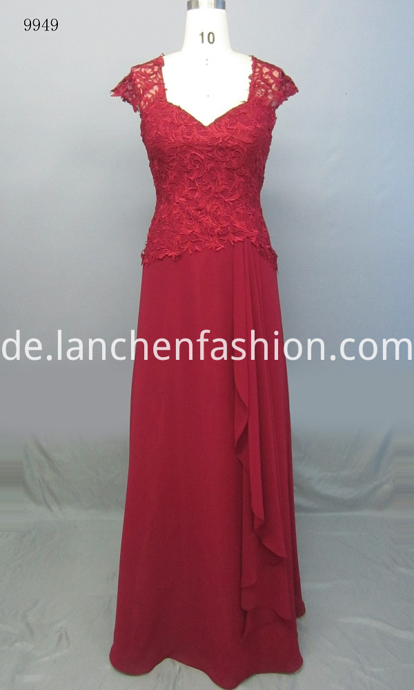V Neck Bridesmaid Dresses