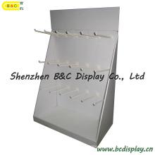 Papierhaken PDQ Display Box, Kartonhaken Display-Ständer, Haken-Display (B & C-D035)