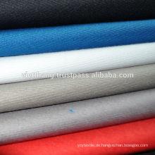 100% Baumwolle Khaki 136*60/CD20*CD16 245gsm hohe Qualität aus Vietnam