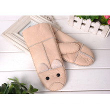 Cheap Export Kid's Gloves Children Winter Fur Warm Gloves Baby Gift Gloves For Boy Girl