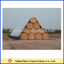 PVC material sheet Windproof Waterproof Hay Bale Tarps