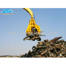 Excavator Hydraulic Orange Peel Grab Steel Scrap Grab for Handling Scrap Metal, Waste Lump and Lump Products