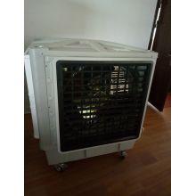 Refrigerador de ar evaporativo axial industrial de 1.5kw20000m3 / H