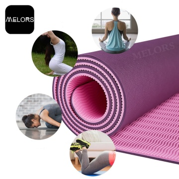 Melor Eco-friendly TPE Ginásio Yoga Mat