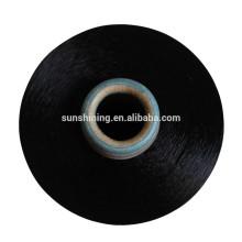 Fio de filamento de raios de rayão 16s / 2 viscose para tecelagem e tricô