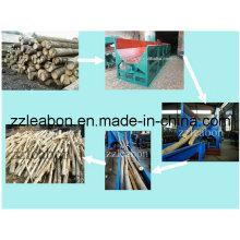 Heißer Verkauf Doppelrotor Typ Holzschäler Maschine