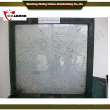 Vidrio flotado de vidrio a prueba de balas para edificios