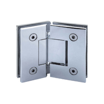 Solid Brass Glass to Glass Shower Door Hinges
