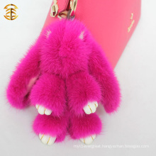 Mink Fur Adorable Rabbit Fur Bag Charm