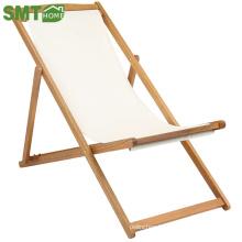 Miniature outdoor foldable wooden beach chair