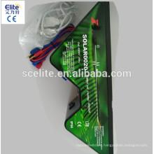 cargador de la cerca eléctrica solar más pequeño / mini cargador solar de la cerca / mini energía solar de la cerca