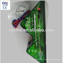 petit chargeur de clôture électrique solaire / mini chargeur de clôture solaire / mini électrificateur de clôture solaire