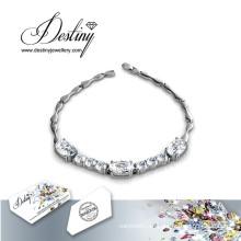 Destino joyería cristal de Swarovski últimas mujeres diseños pulsera