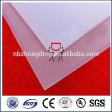 LED-Licht-Diffusion Polycarbonat solide Blatt / Diffusor prismatische PC-Panel 1,5 mm