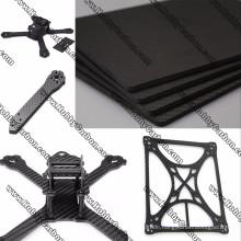 100% Carbon Fiber 3K carbon fiber sheet CNC cutting For Industry/Gimbal/FPV/Drone/frame
