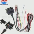Kundenspezifische 7-Pin-Flachstecker-Kabelbaugruppen