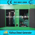 Tipo silencioso super grupo de gerador diesel 400KW com o KTA19-G3A posto pelo motor CUMMINS