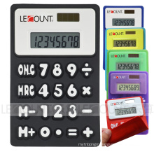 8 Digits Silicon Foldable Calculator with Magnet (LC510A-1)