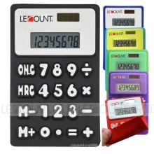8 dígitos calculadora dobrável de silício com ímã (LC510A-1)
