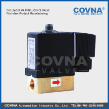 """Mini válvula solenóide para água / água, ar, gás, óleo / 1/4 """"/ Válvula Solenóide Pneumática"""