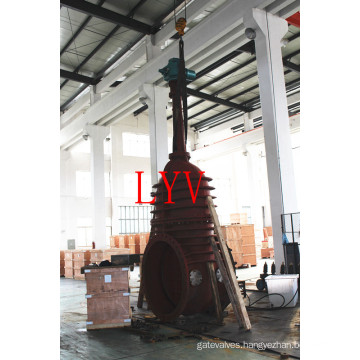 Stainless Steel Flanged Gate Valve with Flexible Wedge